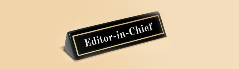 Guidelines for Editor-in-chief